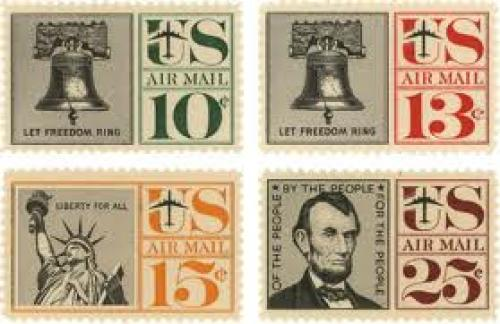 Stamps; USA, 1960, design by Herb Lubalin '80, John Pistilli and J. Lombardero