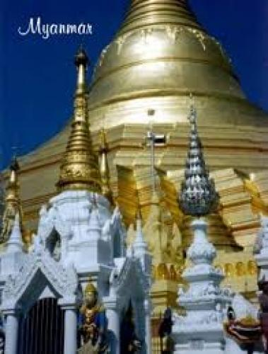 shwedagon postcard pagoda