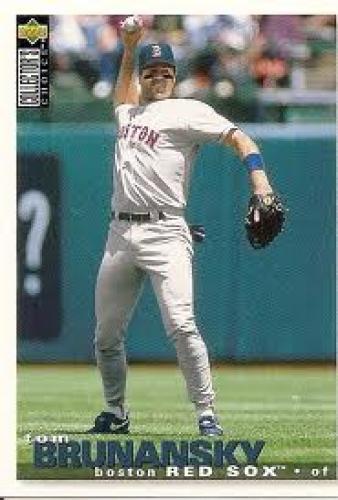 Baseball Card; Tom Brunansky; Boston; This is his last baseball card