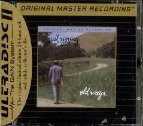 Memorabilia; Neil Young Old Ways USA Cd Album UDCD663 Old Ways