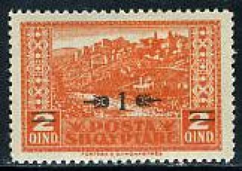 Overprint 1v; Year: 1924