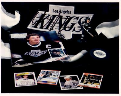 Wayne Gretzky autographed Los Angeles Kings memorabilia 8x10 photo