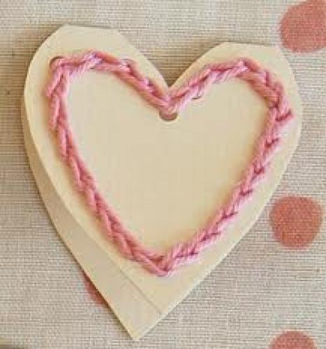 Crafts; Handmade Valentines - Knitting