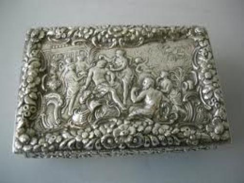 Antiques;  Silver Snuff Box. PRLog (Press Release) - Jul 20, 2009