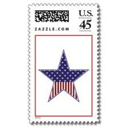 Stamps; Star USA (Stamps) by SophiaDeer