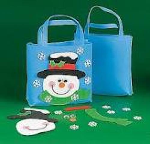 Crafts; Christmas Handmade Bag