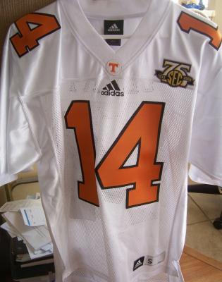 Eric Berry 2008 Tennessee Volunteers authentic Adidas game model jersey NEW