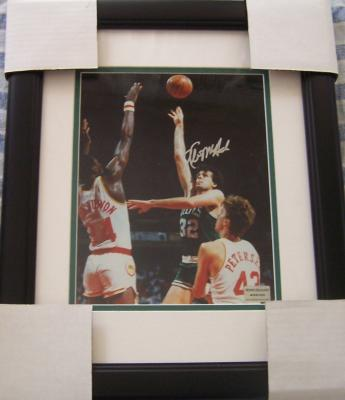 Kevin McHale autographed Boston Celtics 8x10 photo matted &amp; framed