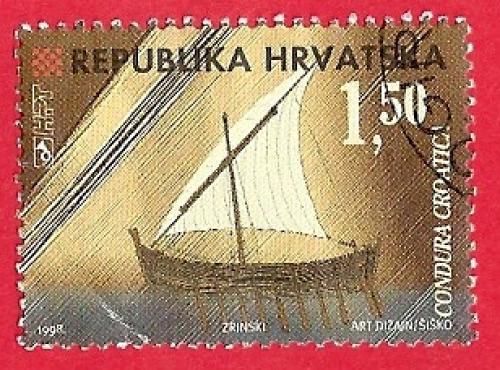 HRVATSKO BRODOVLJE - STAROHRVATSKA KONDURA