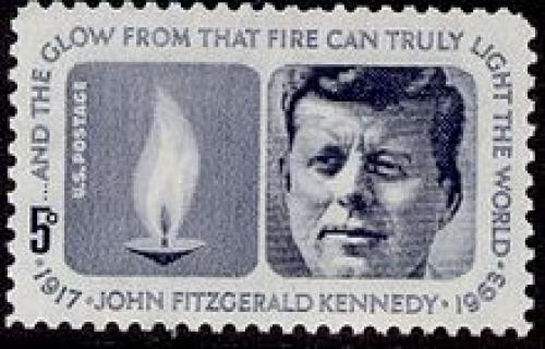 John F. Kennedy Eternal Flame Stamp