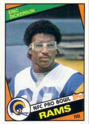 Eric Dickerson 1984 Topps Rookie Card NrMt-Mt