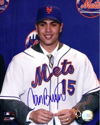 Carlos Beltran autographed New York Mets 8x10 photo