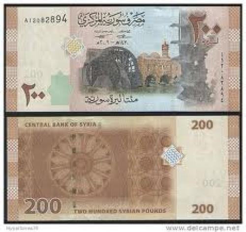 Banknotes; Syria 200_Pounds