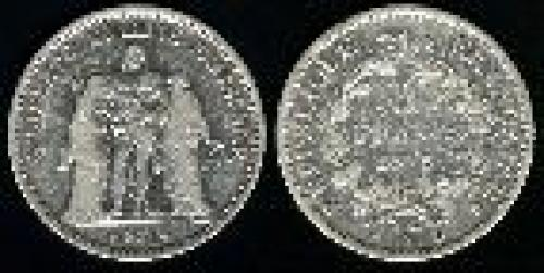 5 francs; Year: 1870-1878; (km 820)