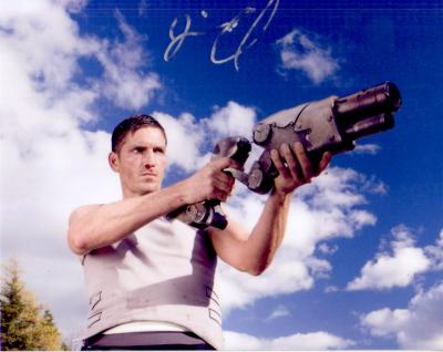 Jim Caviezel autographed Outlander 8x10 photo