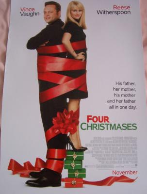 Four Christmases mini movie poster