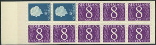 8x8+2x18c booklet; Year: 1965