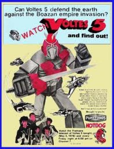 Voltes V Cartoon Characters : Coollectors collectible item memorabilia