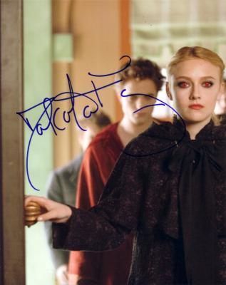 Dakota Fanning autographed 8x10 Twilight New Moon photo