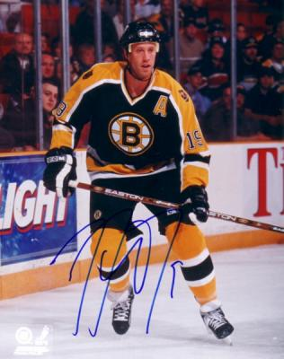 Joe Thornton autographed 8x10 Boston Bruins photo
