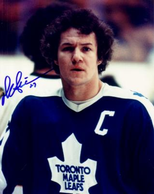 Darryl Sittler autographed 8x10 Maple Leafs photo