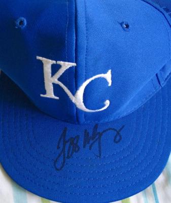 Jeff Montgomery autographed Kansas City Royals cap