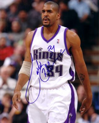 Corliss Williamson autographed Sacramento Kings 8x10 photo