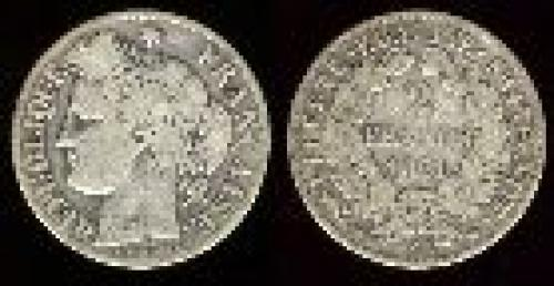 2 francs; Year: 1870-1895; (km 817)