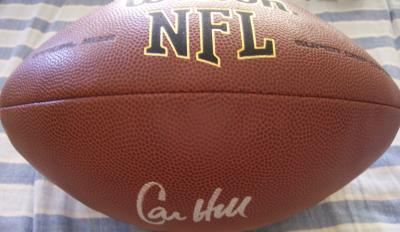 Calvin Hill autographed NFL replica football