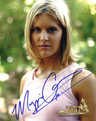 Maggie Grace autographed 8x10 LOST photo