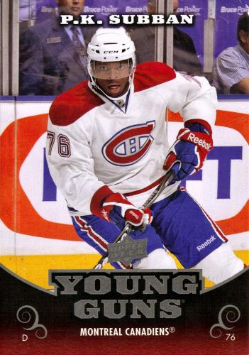 P.K. Subban Young guns