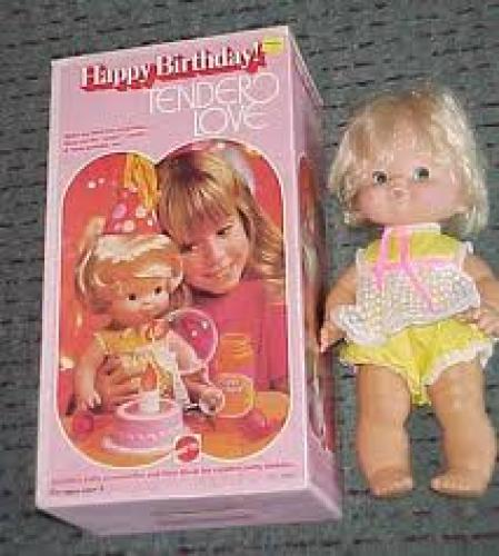1975 Happy Birthday Tender Love doll in box By Mattel