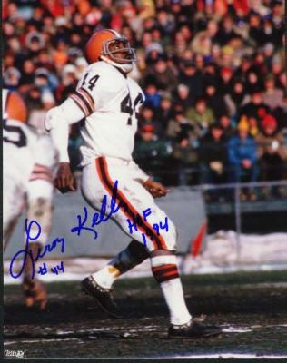 Leroy Kelly autographed 8x10 Cleveland Browns photo