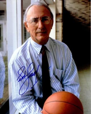 Bob Cousy autographed 8x10 portrait photo