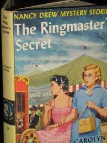 Books; Nancy Drew; The Ringmaster Secret
