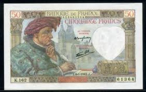 Paper Money France - 50 Francs - 1942 issue