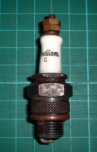 Indian spark plug