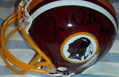 Trent Williams autographed Washington Redskins mini helmet