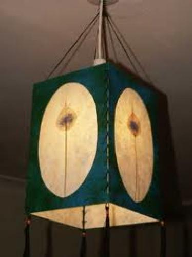 Crafts; Handmade Paper Products; Lampshade