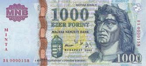Banknotes;1000 ezer forint; Hungary Notes