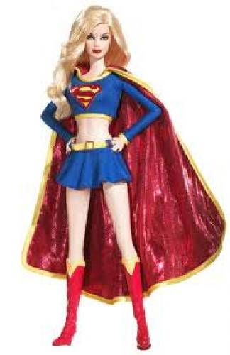 Barbie Doll Toy in Superwoman Outfit