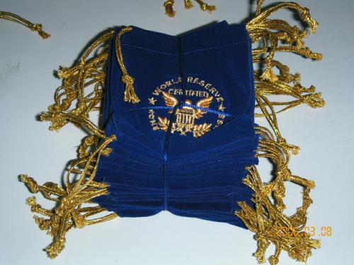 Coin Bag/ Muslin Bag/ Velvet Poucyh