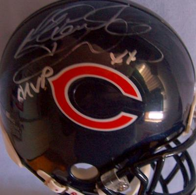 Richard Dent autographed Chicago Bears mini helmet