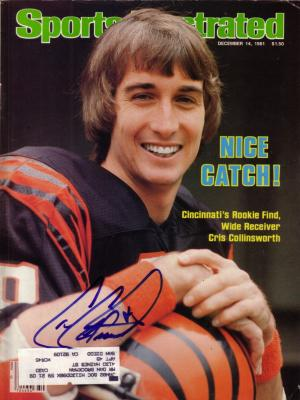 Cris Collinsworth autographed Cincinnati Bengals 1981 Sports Illustrated
