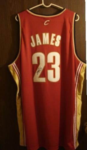 LeBron James Autographed Jersey JSA Authentication