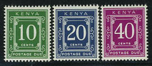 Postage due 3v; Year: 1983