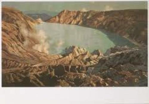 Postcard; Eland/Postcards/Lakes/Indonesia/Art-P