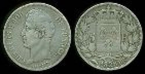 5 francs; Year: 1827-1830; (km 728)