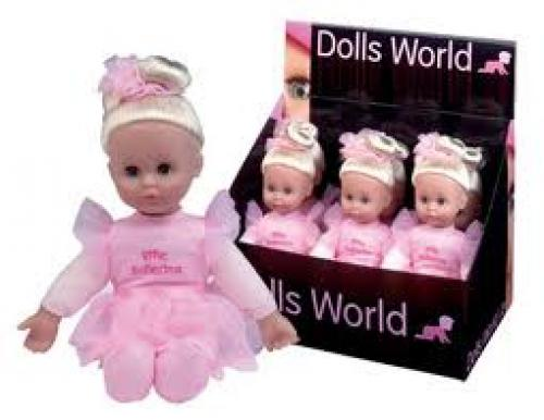 Dolls World Little Ballerina