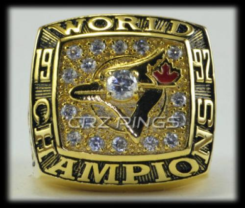 Toronto Blue Jays 1992 World Series Championship RING